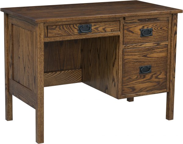 Amish 42 Inch Post Mission Desk