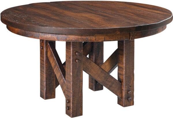 Amish Denver Pedestal Dining Table
