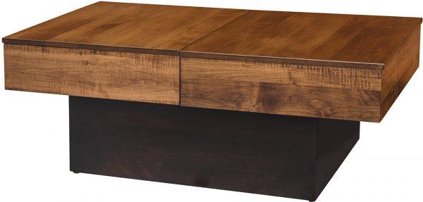 Amish Ellsworth Storage Coffee Table