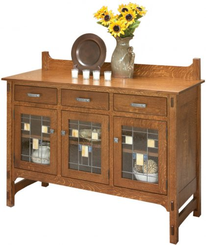 Amish Glenwood 3-Door Sideboard