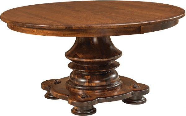 Amish Woodmont Single Pedestal Table