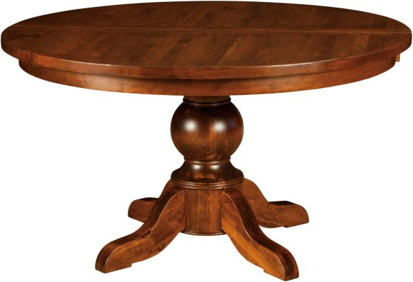 Amish Carson Single Pedestal Table