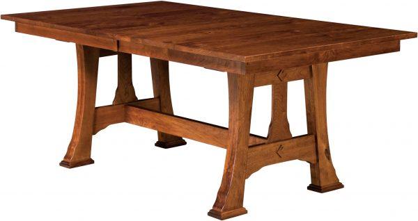 Amish Cambridge Trestle Table