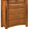 Amish Ravena Wide Six Drawer Chest