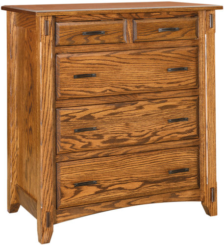 Amish Tacoma Five Drawer Chest