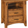 Amish Tacoma Two Drawer Nightstand