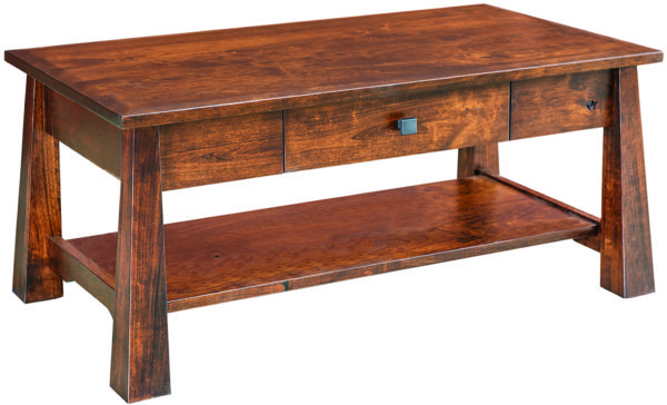 Amish Cambridge Hardwood Coffee Table