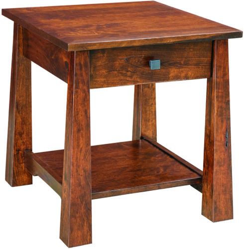 Amish Cambridge Large End Table