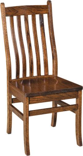 Amish Abe Slat Dining Chair