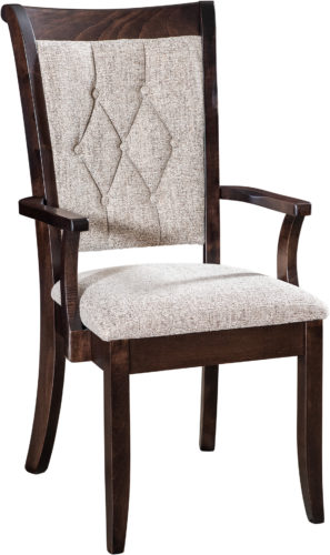 Amish Chelsea Dining Chair with Arms