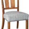 Amish Ellis Chair with Optional Nailheads