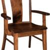 Amish Maverick Dining Arm Chair
