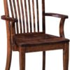 Amish Shelby Dining Arm Chair
