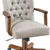 Amish Zellwood Desk Chair with Arms