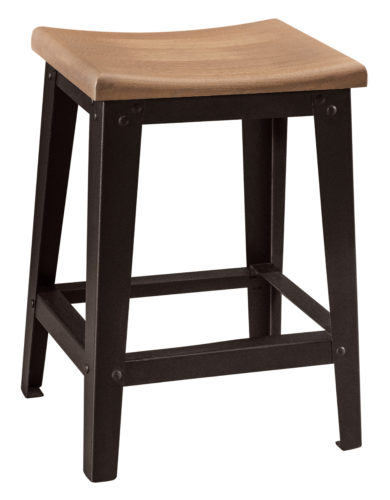 Amish Haven Stationary Bar Chair