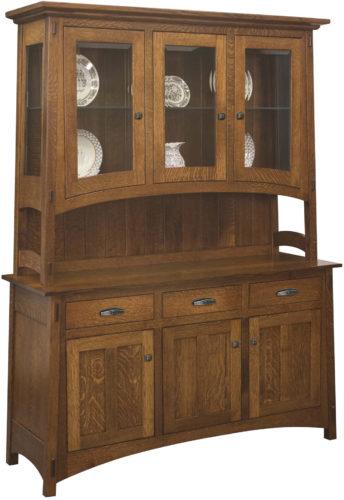 Amish Colbran Three Door Hutch