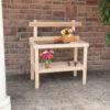 Cypress Garden Table Outside