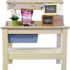 Painted Cypress Potting Table