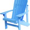 Adirondack Chair Painted Blue