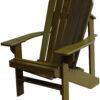 Adirondack Chair Painted Chocolate