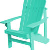 Adirondack Chair with Cool Mint Paint
