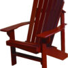 Adirondack Chair Painted Barn Red