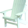 Adirondack Chair with White Paint