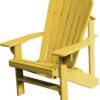 Adirondack Chair Painted Honey Mustard