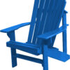 Adirondack Chair with Arctic Sea Paint