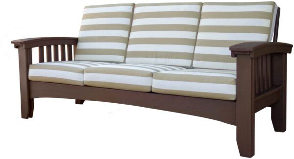 Days End Mission Sofa in Cypress