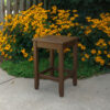 Cypress Days End Accent Table with Chocolate Paint