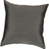 Canvas Coal 16 Inch Throw Pillow