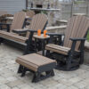 Poly Lumber Patio Glider Set
