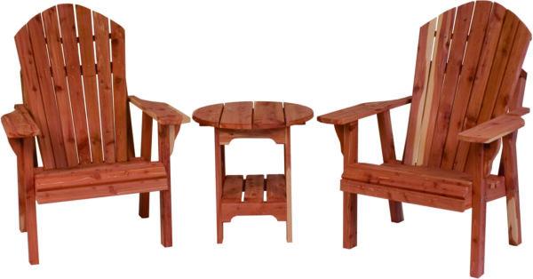Adirondack Chair and Table Set