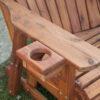 Cedar Arm Cupholder