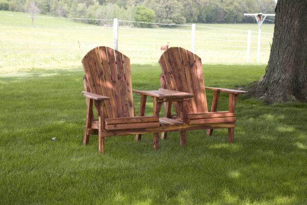 Cedar Chair-Table Combo