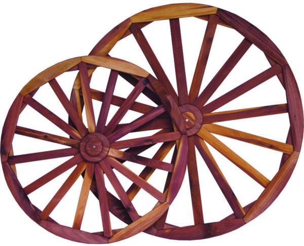 Decor Wheels in Cedar