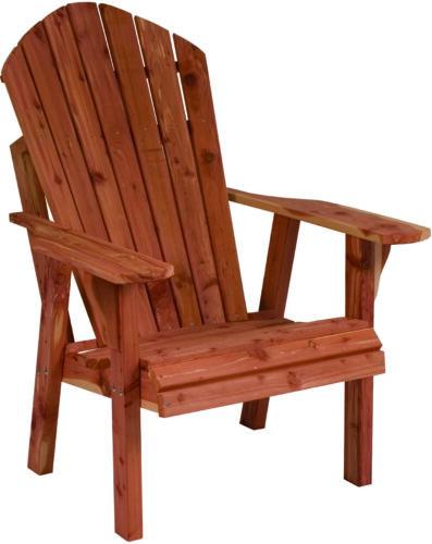 Cedar New Style Adirondack Chair