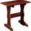 Tall End Table in Cedar