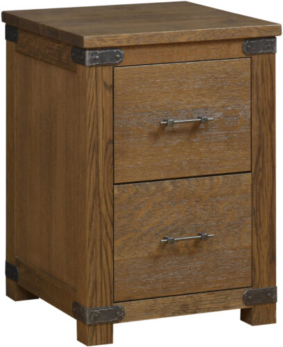 Amish Georgetown 2 Drawer File