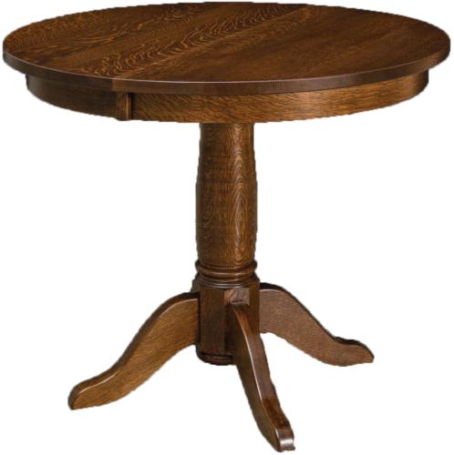 Amish Addison Pedestal Dining Table