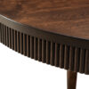 Amish Bellaire Leg Dining Table Detail