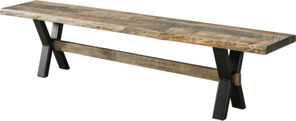 Amish El Dorado Dining Bench