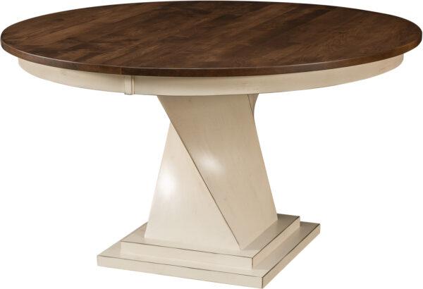 Amish Lexington Single Pedestal Table