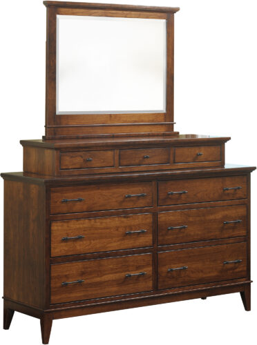 Cortland Dresser with Topper and Mirror