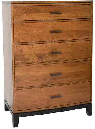 Trieste Five Drawer Chest