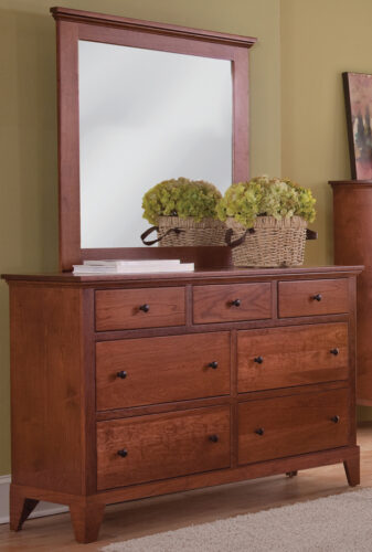 Custom Riceland Dresser with Mirror