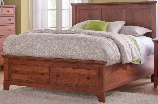 Custom Riceland Panel Bed