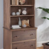 Wrightsville Lateral File with Bookcase Hutch