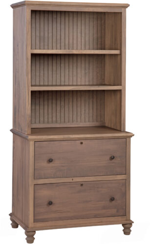 Wrightsville Lateral File with Hutch